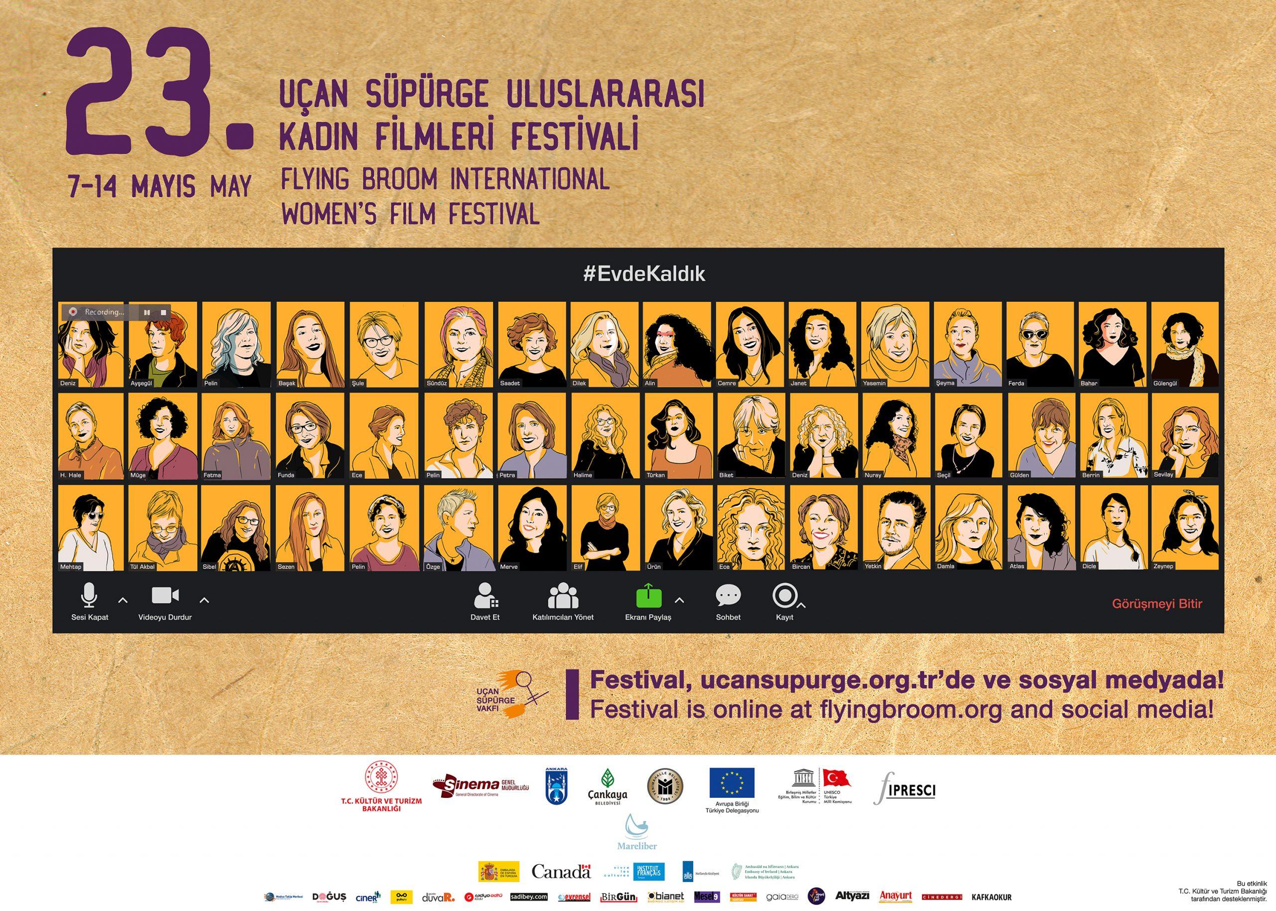 23rd Flying Broom Women's Film Festival